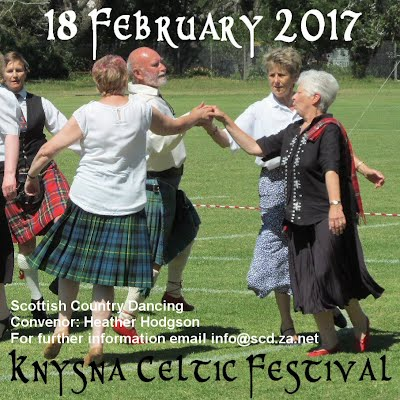 Save the date Knysna Celtic Festival 18 February 2017